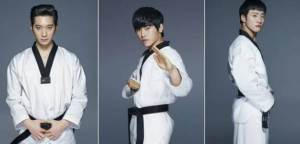 'COOL KIZ ON THE BLOCK' RILIS FOTO PROFIL CHANSUNG, HOYA, DAN FEELDOG DALAM SERAGAM TAEKWONDO